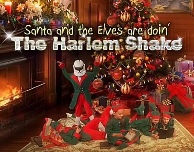 Doing The Harlem Shake - HarlemShakeSanta_001aShake Shake Shake